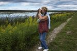 Birding at Tiny Marsh in late summer