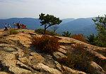 Bear Mountain Summit With Tourists