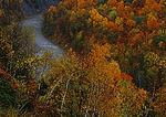 Letchworth Gorge And Genesee River In Autumn