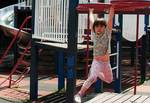 Fearless at the playground