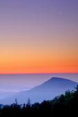 Crescent Moon at Dawn