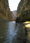 SANTA ELENA CANYON WITH THE RIO GRANDE RIVER
